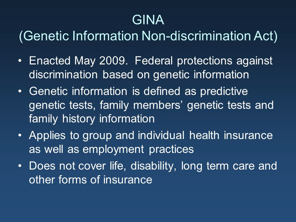 genetic discrimination based on testing for Genetic testing, also known as dna testing, allows the determination of bloodlines and the genetic diagnosis of vulnerabilities to inherited diseases in agriculture , a form of genetic testing known as progeny testing can be used to evaluate the quality of breeding stock.