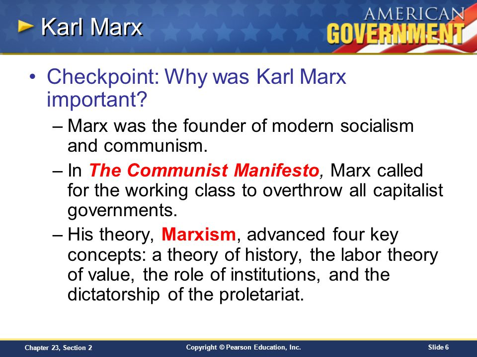 concept of history in the communist manifesto by karl marx Unit 6: karl marx and communism study play karl marx-capitalism was a necessary evil on the road communism-published communist manifesto-dialectical materialism theory of.