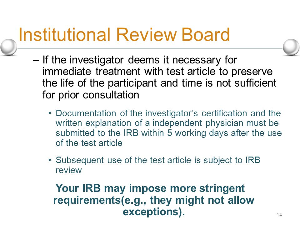 institutional review boards Institutional review boards, or irbs, are charged with reviewing psychological research to ensure that it complies with ethical guidelines.