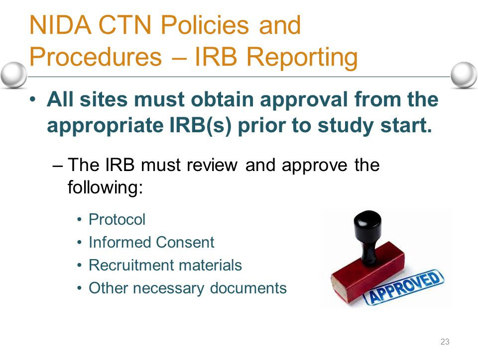how to get irb approval