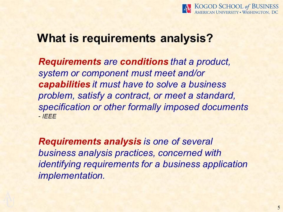 Business Requirements Analysis Itec-455 Spring Ppt Download