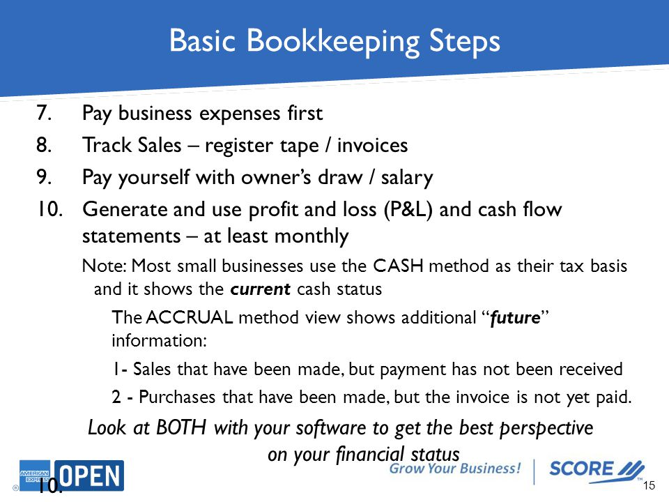 basic bookkeeping Every small business owner should have some understanding of daily record-keeping practices and principles learn accounting and bookkeeping basics here.