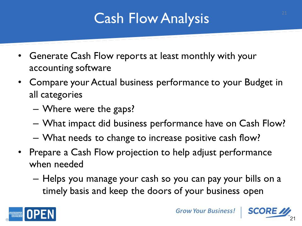 a cash flow analysis for a train business Financials and cash flow creating a cash flow projection  create a cash flow projection  learn more about using competitive analysis to differentiate your business.