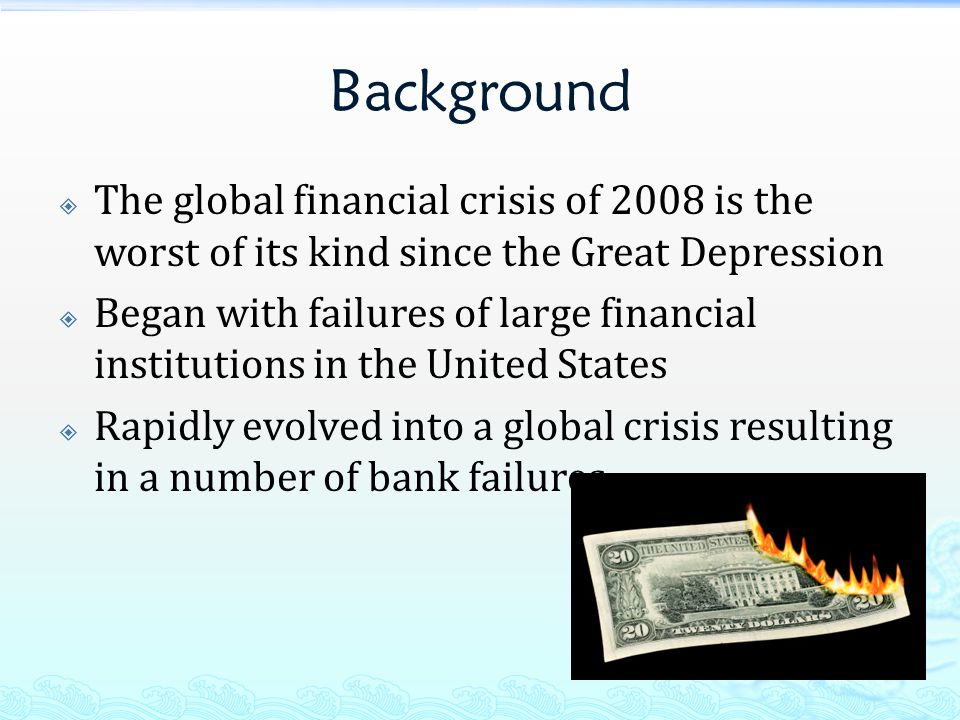 The Causes And Aftermath Of The 2007-2008 Financial Crisis