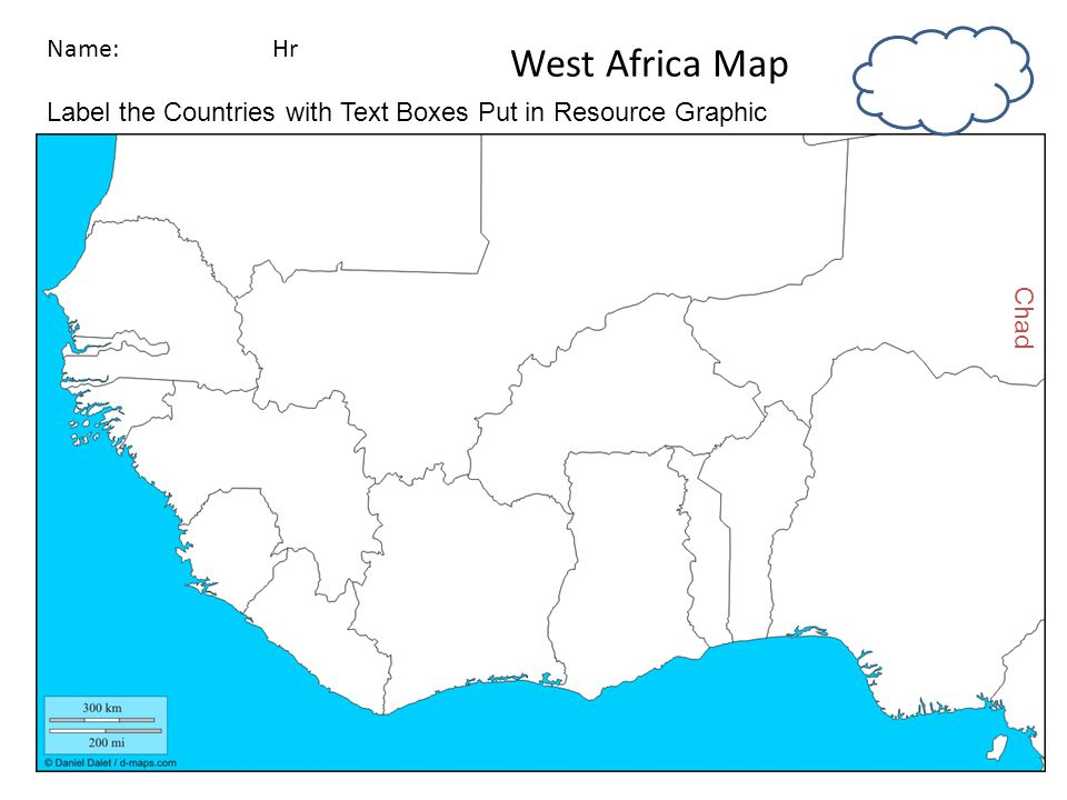 Introduction To West Africa Ppt Download - Africa political map without names