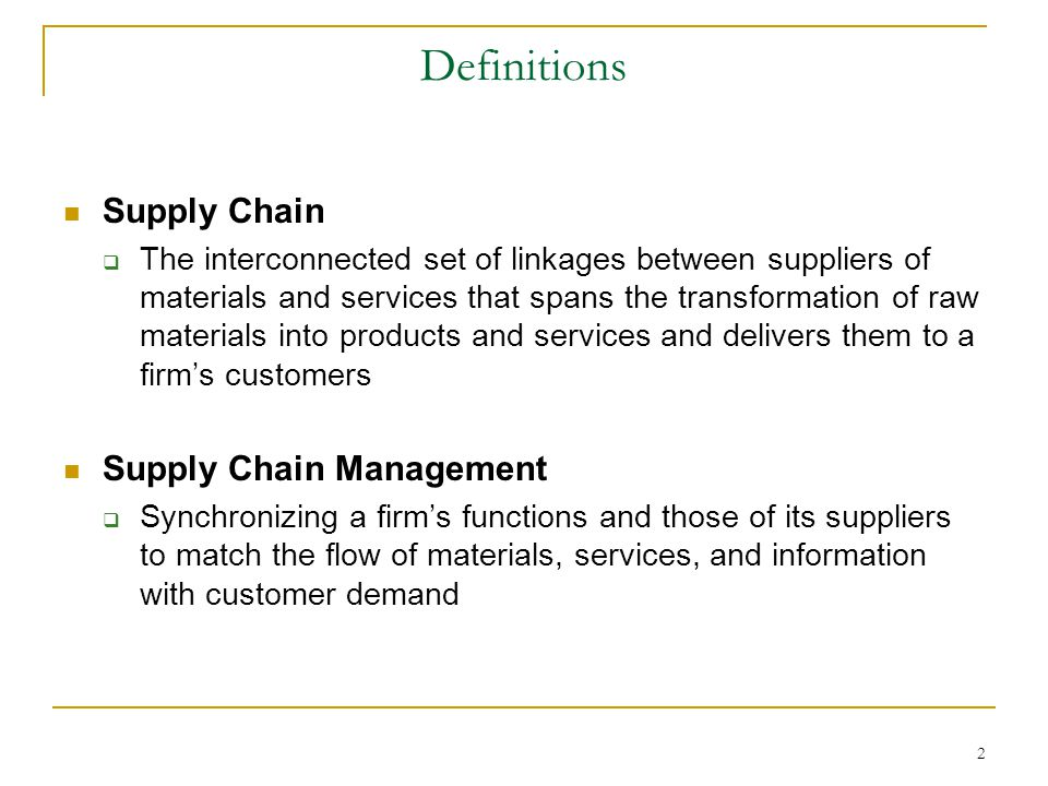 Average Supply Chain Manager Salary