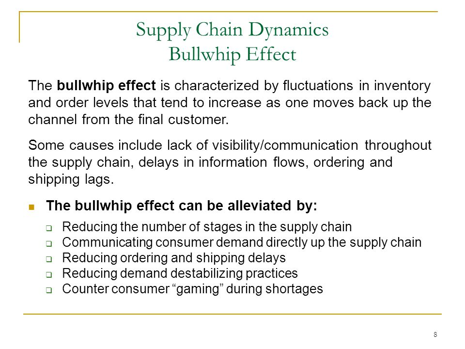 SKU Proliferation and its Effect on Supply Chain Management