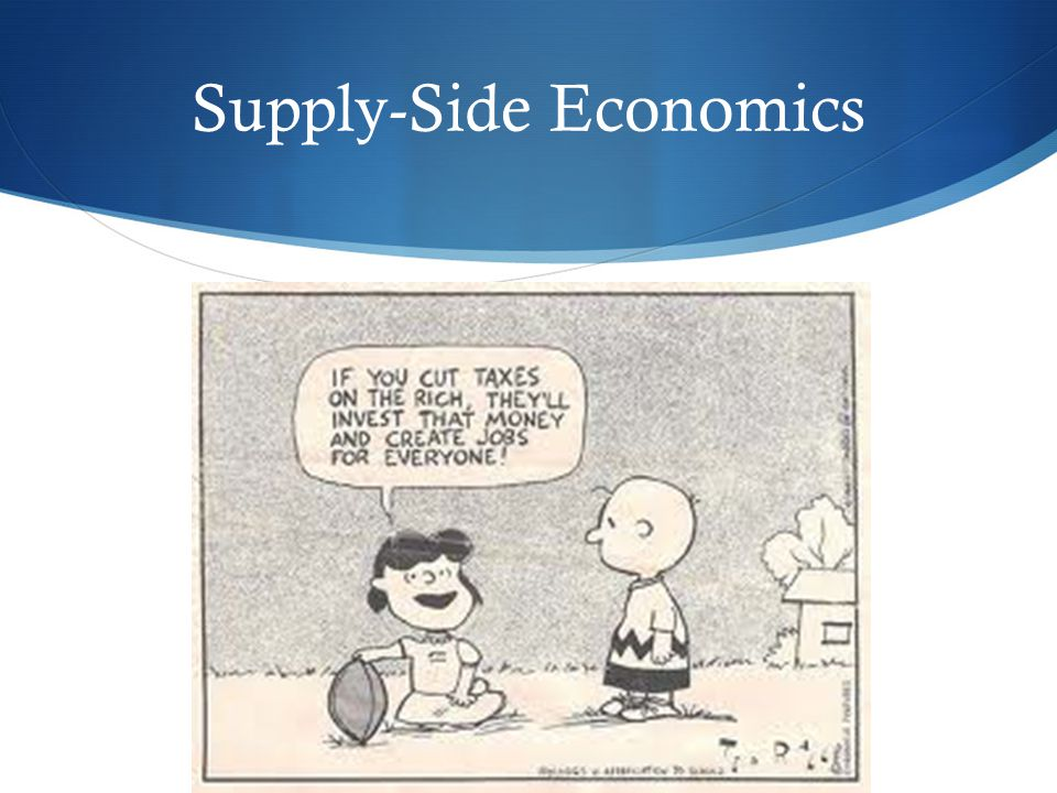 Image result for supply-side economics