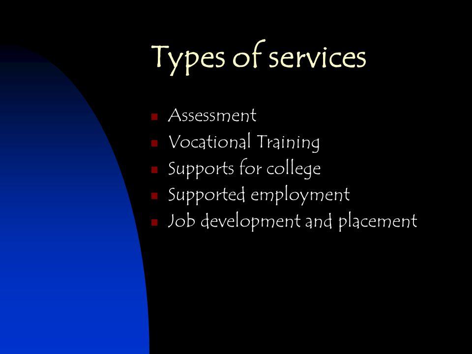 types of vocational schools