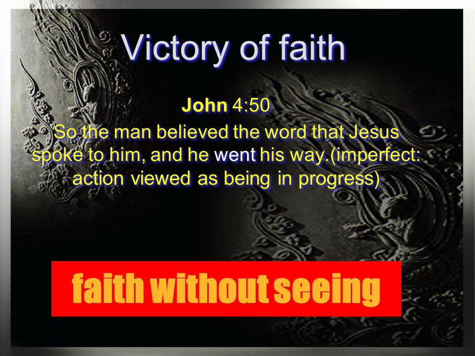 faith is the victory pdf