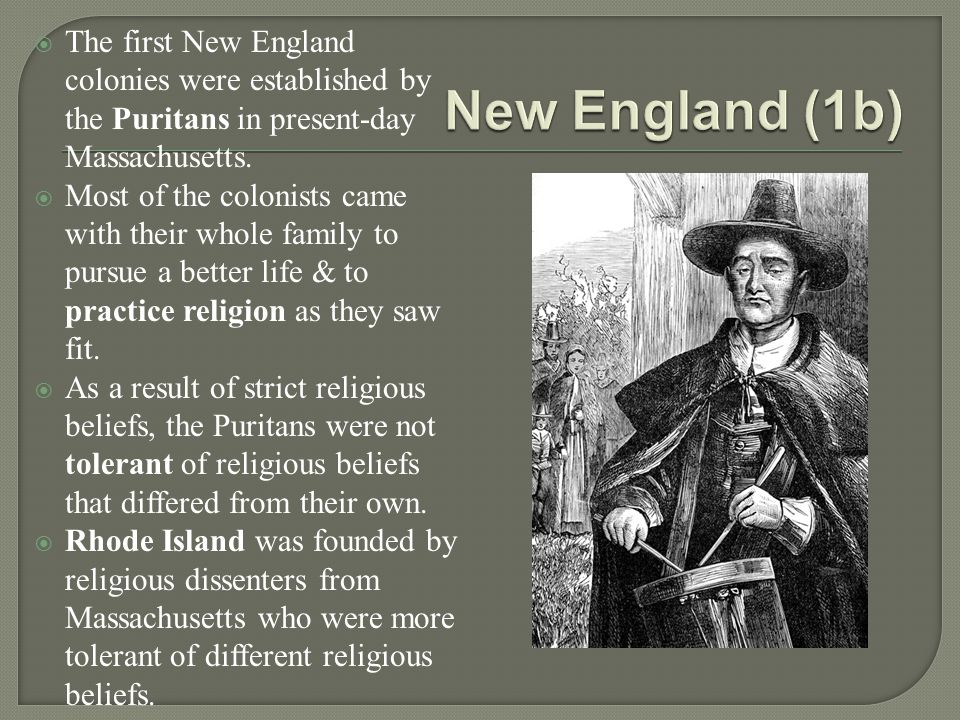 differences in development the new england The combination of calvinism, soil, and climate in new england made for purposefulness, stubbornness, self-reliance and resourcefulness new england's impact on the whole nation has been incalculable.