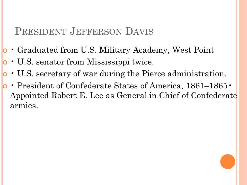 President Jefferson Davis