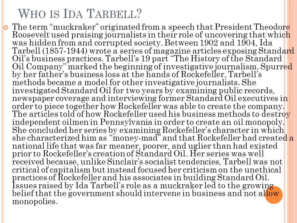 Who is Ida Tarbell