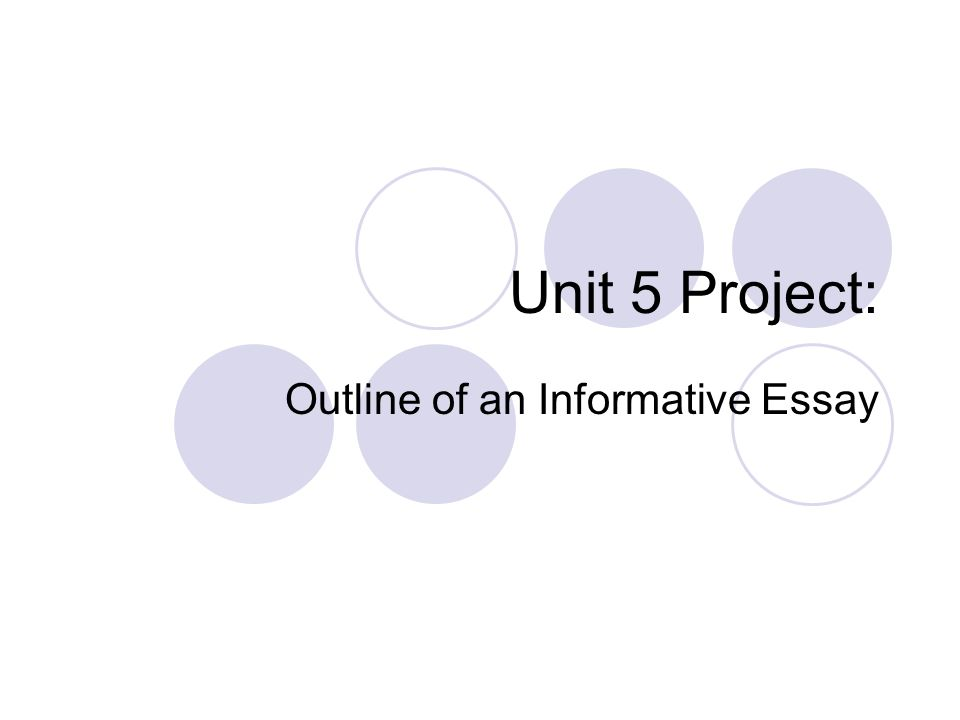 outline of an informative essay ppt video online  outline of an informative essay