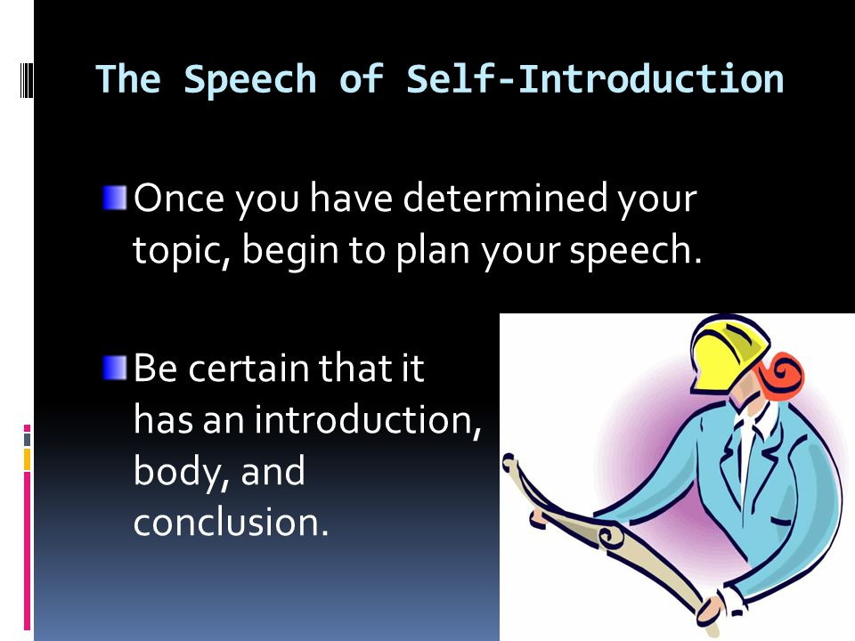 how to start an introduction for a speech