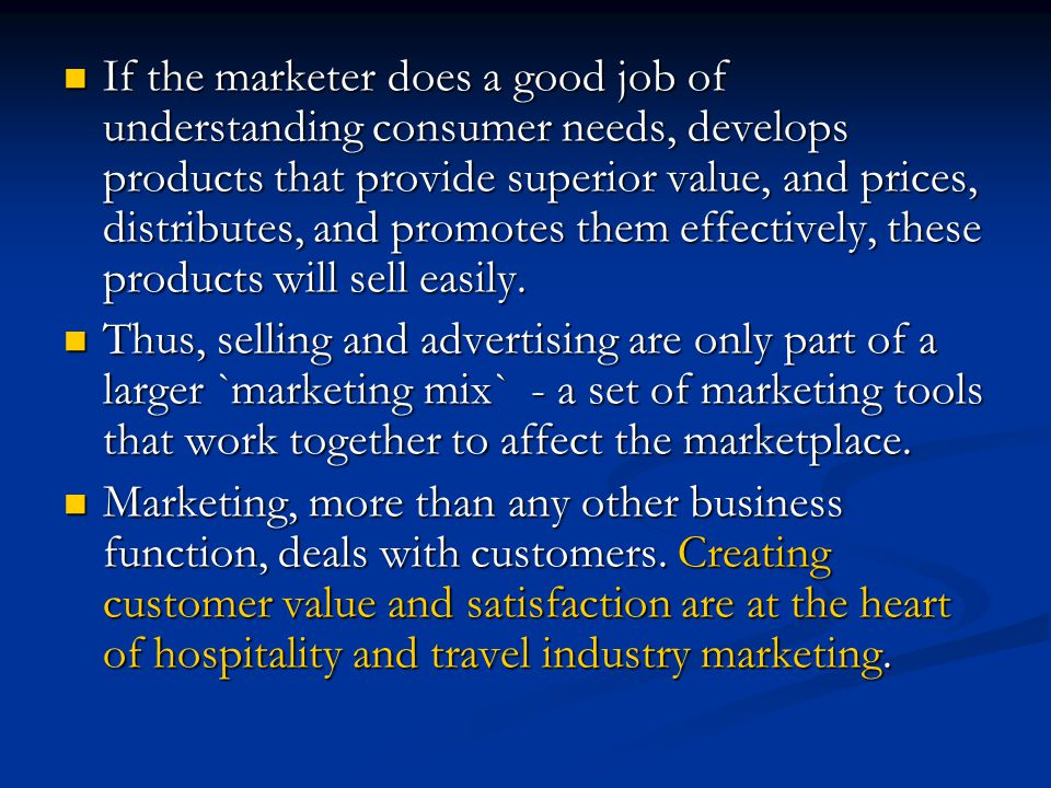 does marketing create or satisfy needs Does marketing create or satisy needs search search results do marketers create artificial needs  will satisfy more than one need and thus create strong .