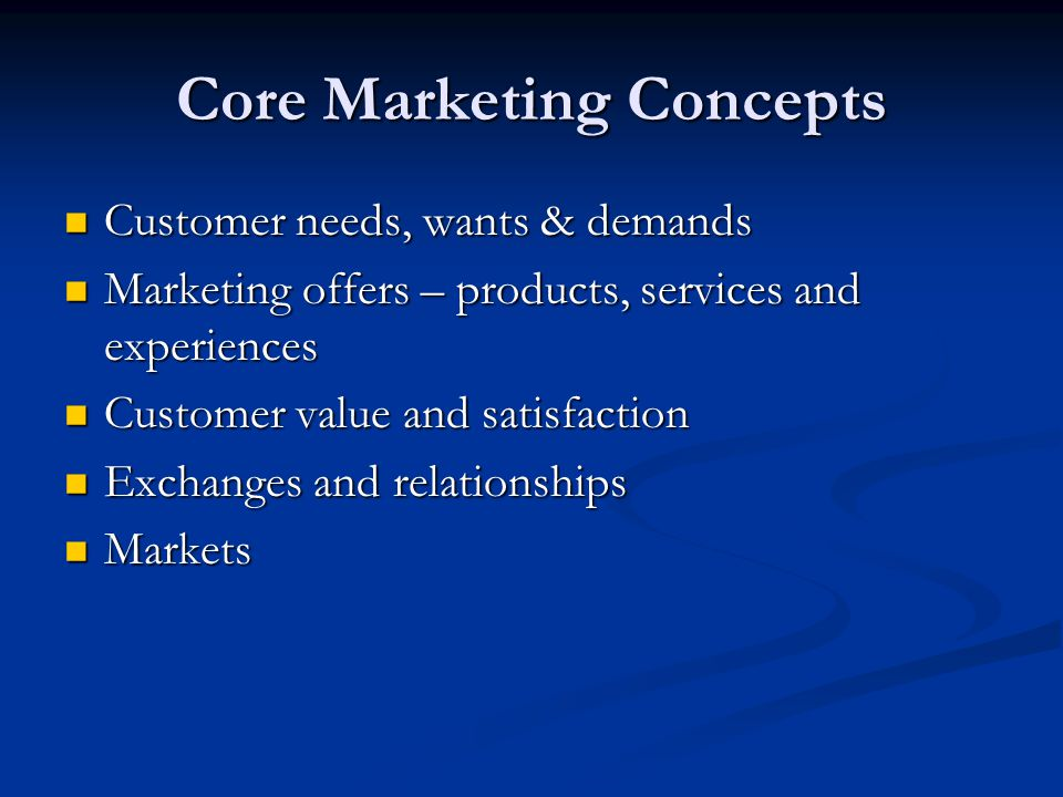 core concepts of marketing for the travel and tourism industry Introduction 78 definitions and contemporary tourism marketing approaches   these concepts lie at the core of the field of tourism studies  destinations that  people travel too in order to satisfy their motivations for particu- lar experiences.