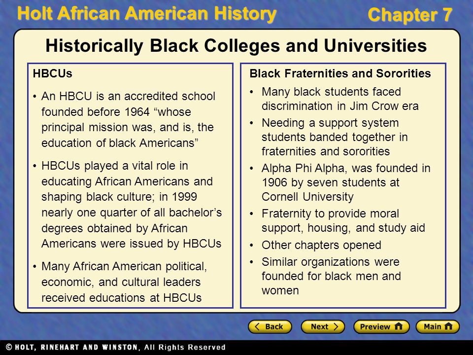 the improvement of african american education before and after the jim crow era Jim crow laws were state and local but equal doctrine for african americans public education had essentially been of the jim crow era.