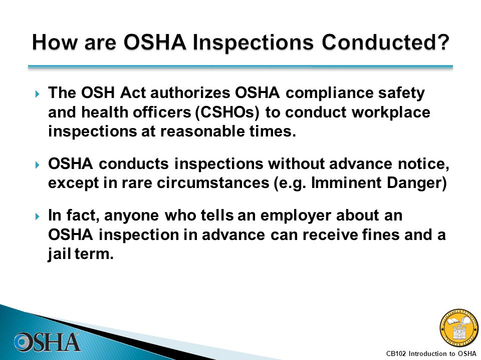 how to become an osha compliance officer