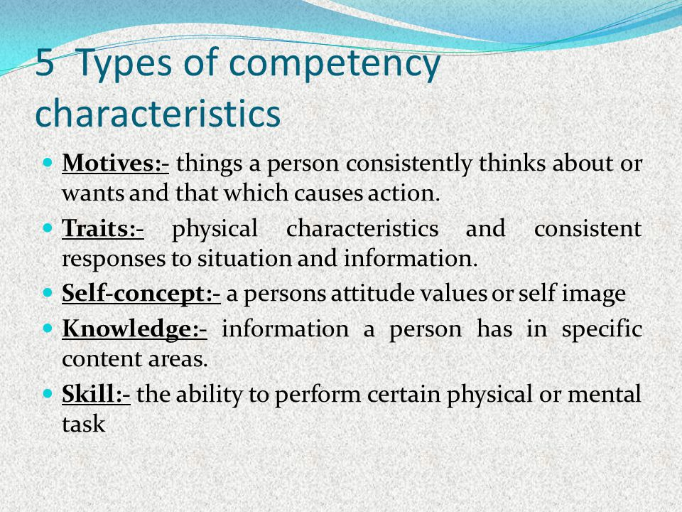 attributes and characteristics of a persons self concept Nurses derive their self-concept and professional identity from their public image, work environment, work values, education and traditional social and cultural values  persons and thus the .