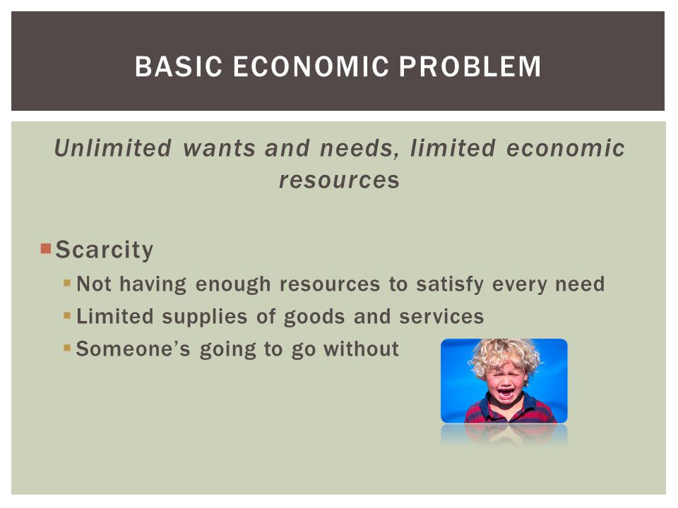 5 Basic Problems of an Economy (With Diagram)