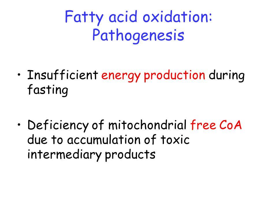 fatty acid oxidation disorder pdf