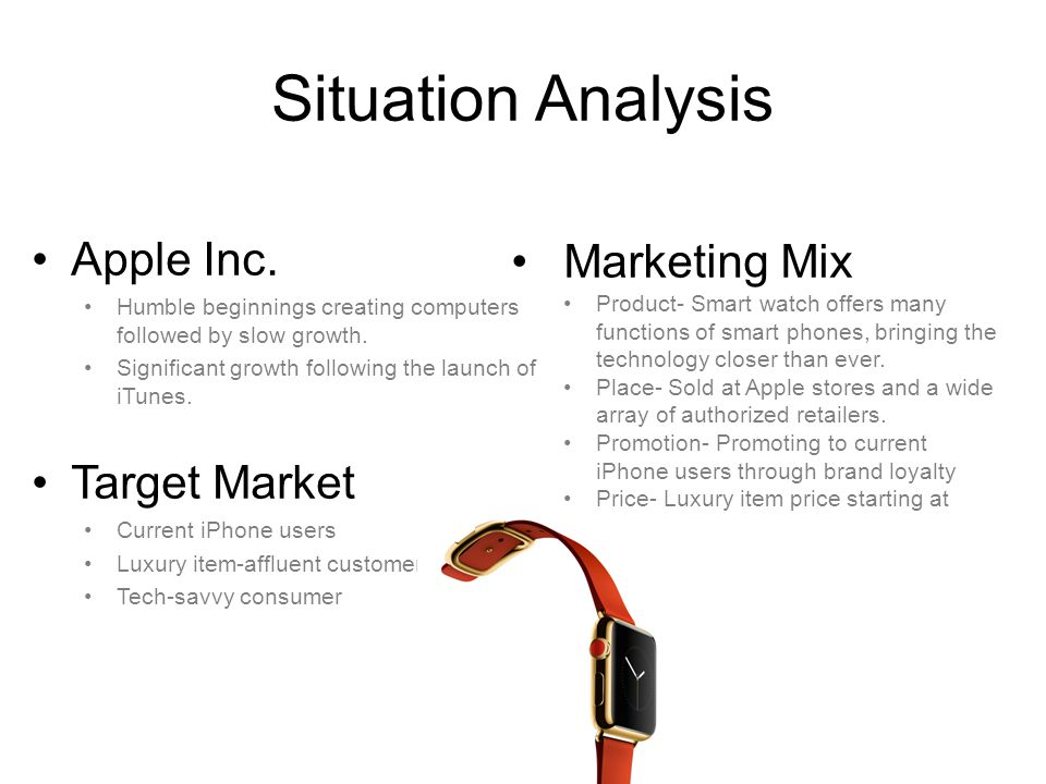 Marketing Plan of Apple