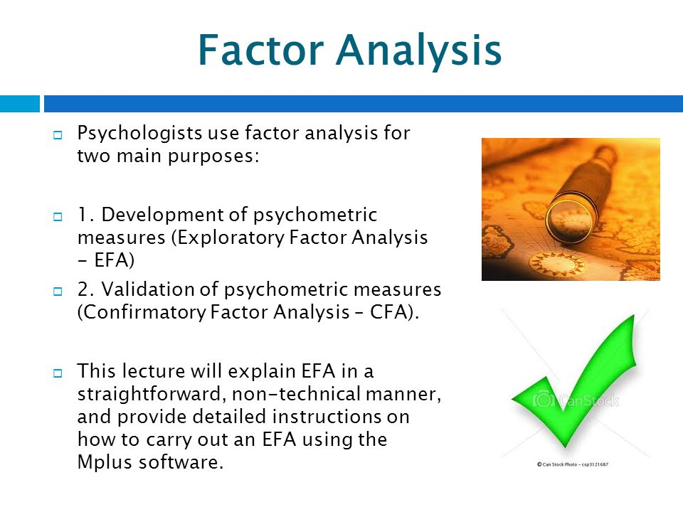 Analysis Factor 67