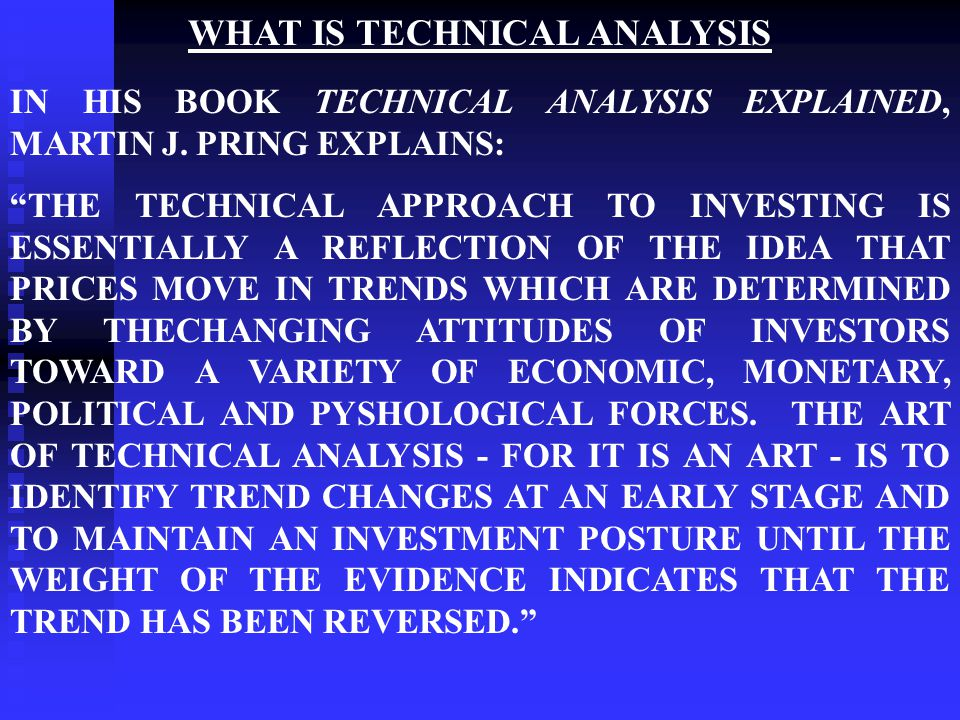 Chapter 17 Technical Analysis The Visual Clue. - Ppt Download