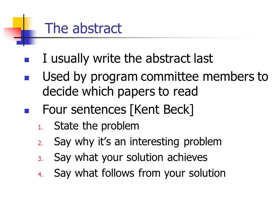 concepts essays