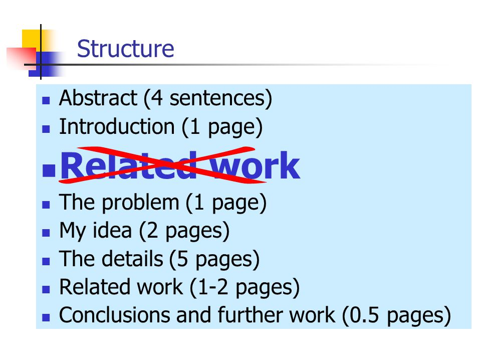 Related Work In Research Paper