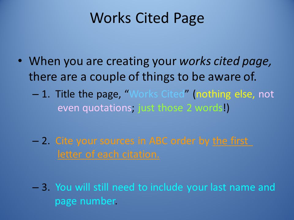 what information needs to be cited in a research paper No matter what the style you use for citing your paper, the process is   researchers and writers should understand some of the.