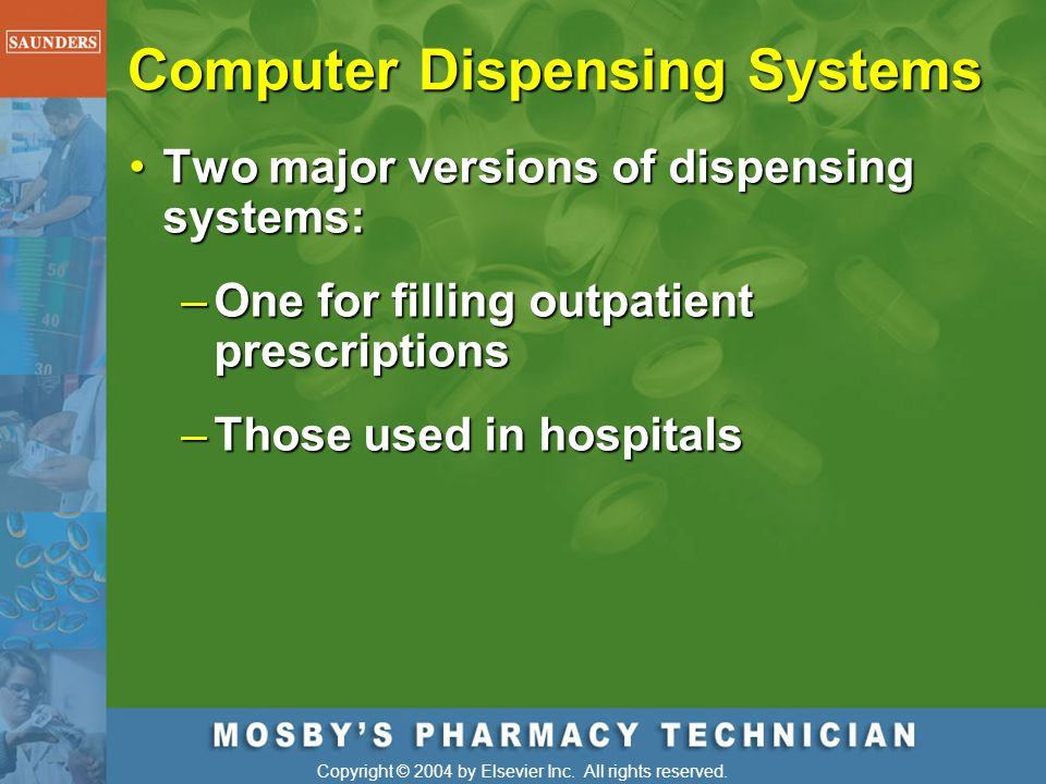 Computer Dispensing Systems