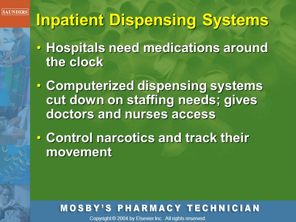 Inpatient Dispensing Systems