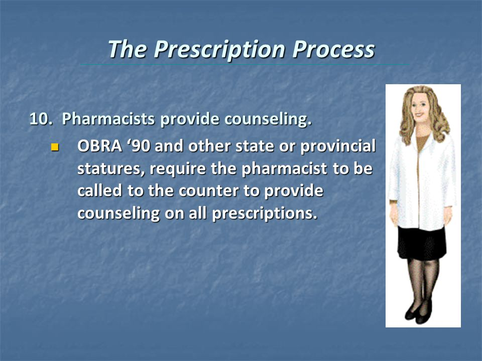 The Prescription Process