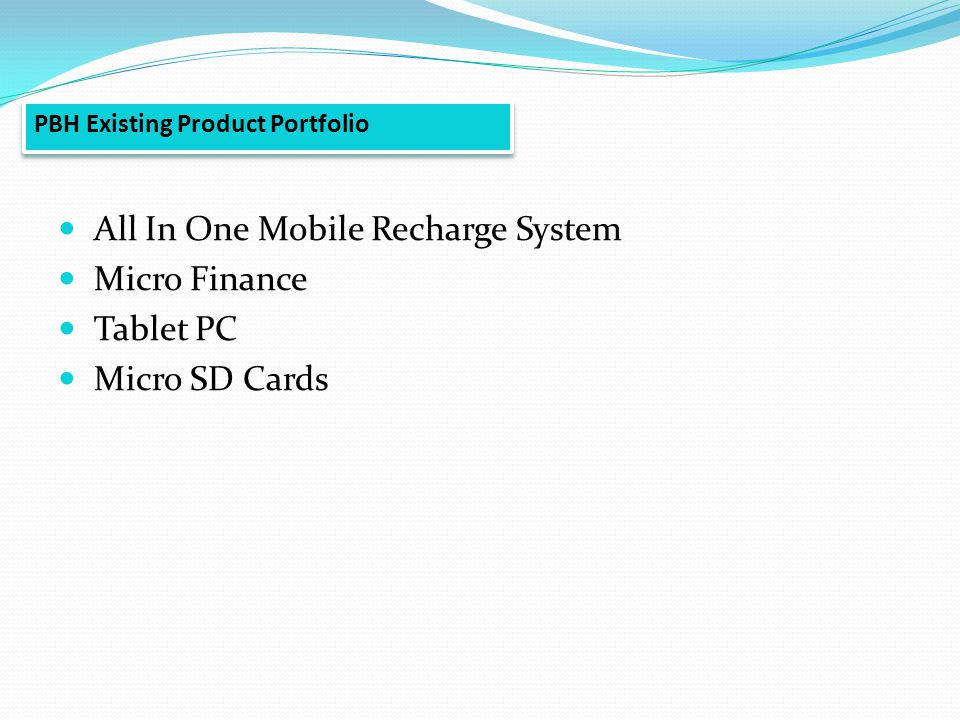 pi pioneer business holdings ppt video online  71 all in one mobile recharge system micro finance