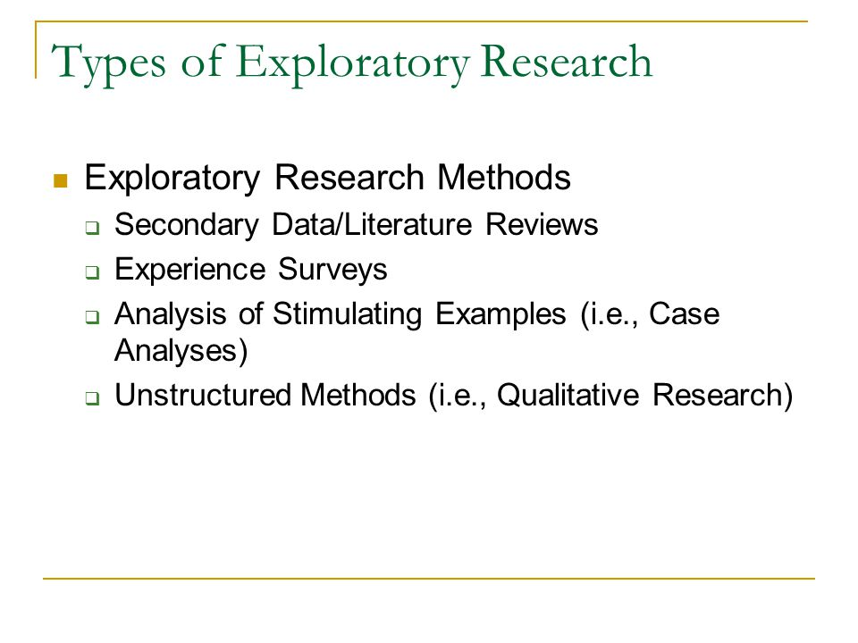 explanatory research methods Explanatory research is the conducted for a problem which was not well researched before, demands priorities, generates operational definitions and provides a better-researched model it is actually a type of research design which focuses on explaining the aspects of your study in a detailed manner.