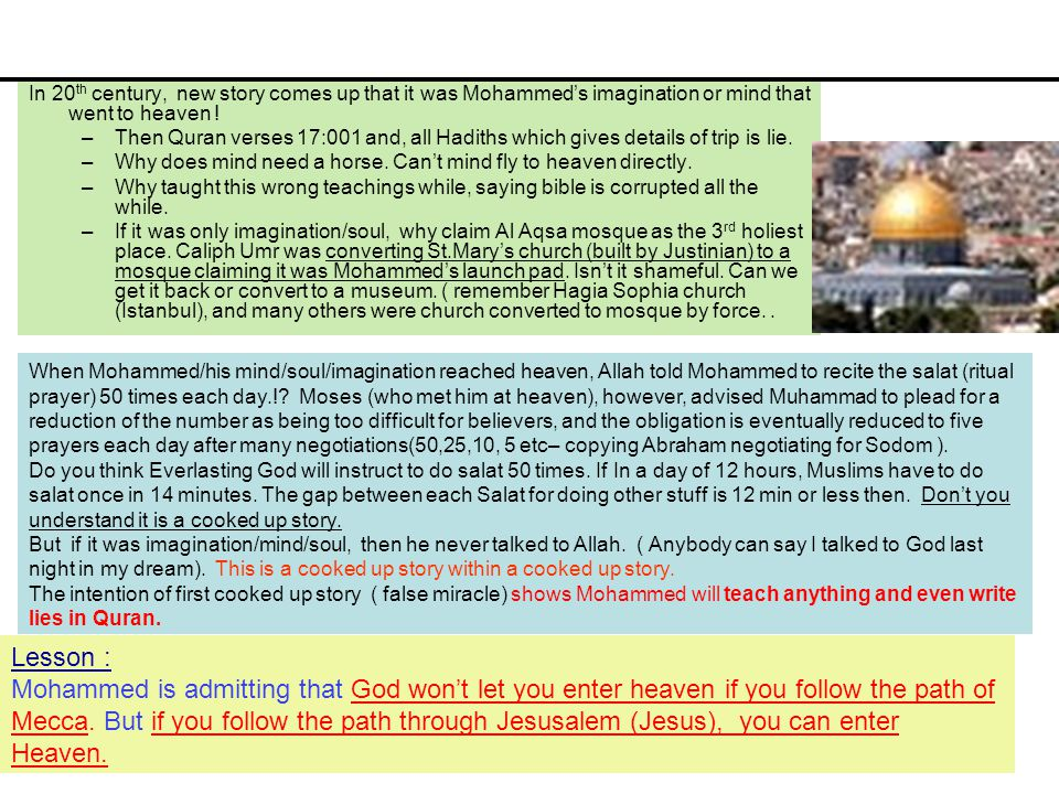 comparing jesus mohammed teachings Comparing jesus and muhammad on marriage and divorce introduction here we select some teachings of jesus from the gospels, then follow with teachings of muhammad from the koran, all relative to wives, marriage, divorce, adultery, etc.