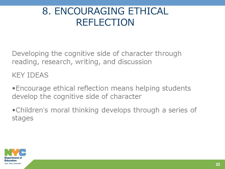 ethical reflections Ethical reflections this contribution builds on an analytical approach using dewey's thoughts on morals and ethics to address how we acquire our morals, how we can.