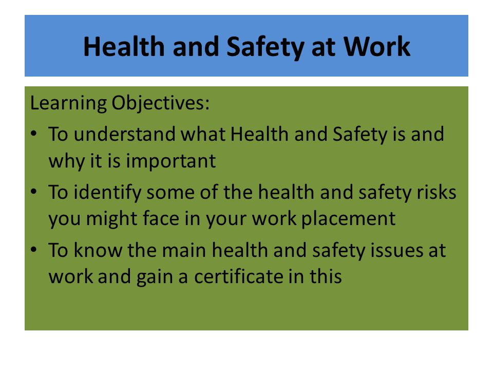 a health and safety dilemma These dilemmas are interpreted against the background of a value based ethical model this model offers an integral approach to the dilemmas and can be used to determine policy the dilemmas are discussed here as the result of conflicting values—namely autonomy and privacy, support and safety, justice and.