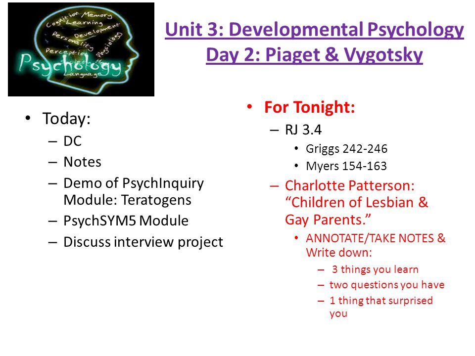 psychology 1 module 1 project milestone Psy 205: article review overview throughout this course, you will be working on a final project that involves summarizing and reviewing a peer-reviewed article.