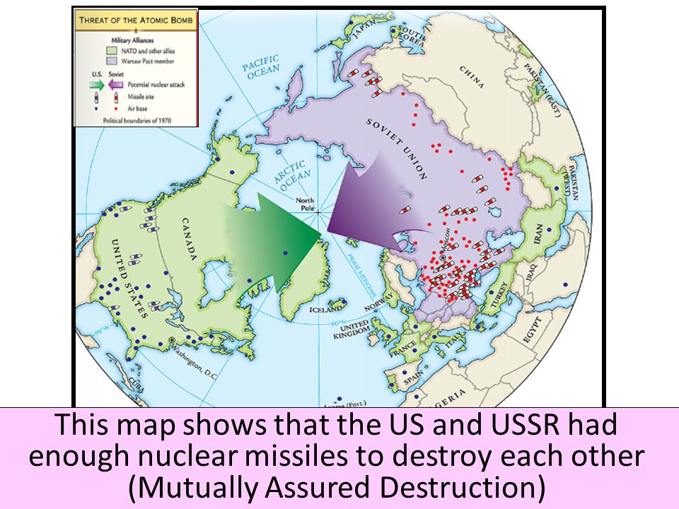REVIEW FOR THE UNIT TEST Ppt Download - Us and ussr map