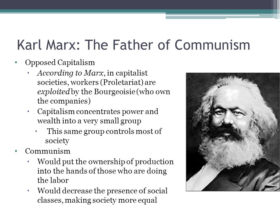Class system and alienation under capitalism according to karl marx