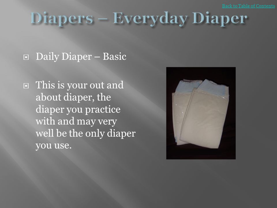 Diapers – Everyday Diaper