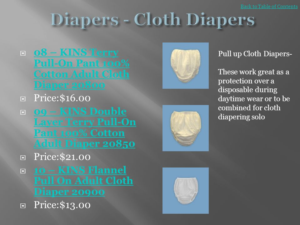 Diapers - Cloth Diapers