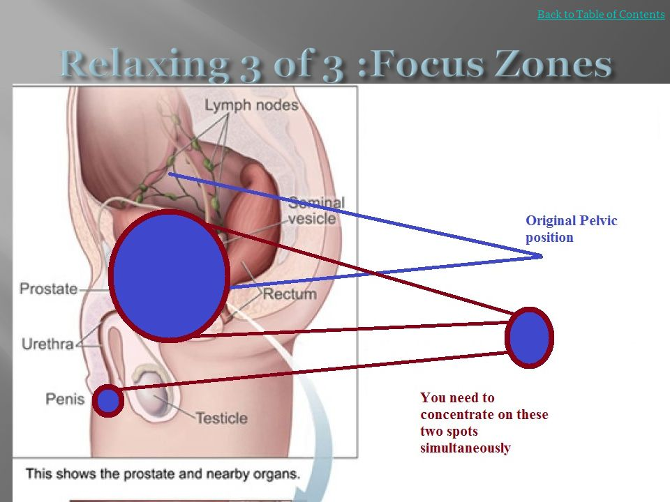 Relaxing 3 of 3 :Focus Zones