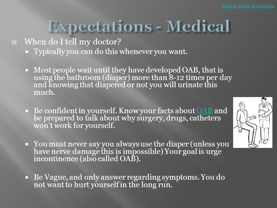 Expectations - Medical