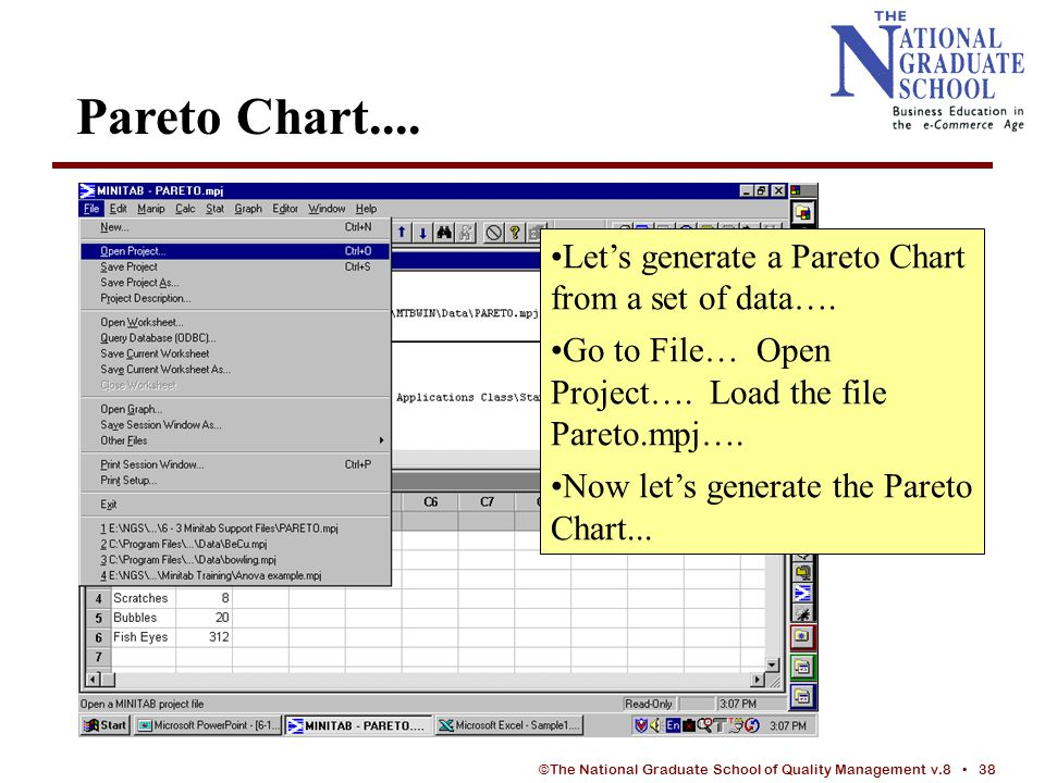 INTRODUCTION TO MINITAB - ppt video online download