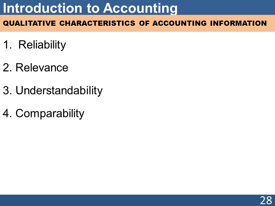 qualitative characteristic of accounting information in Appears in statement of financial accounting concepts no 2: quali- tative  characteristics of accounting information (fasb [1980])1 un- derlying this  endeavor.