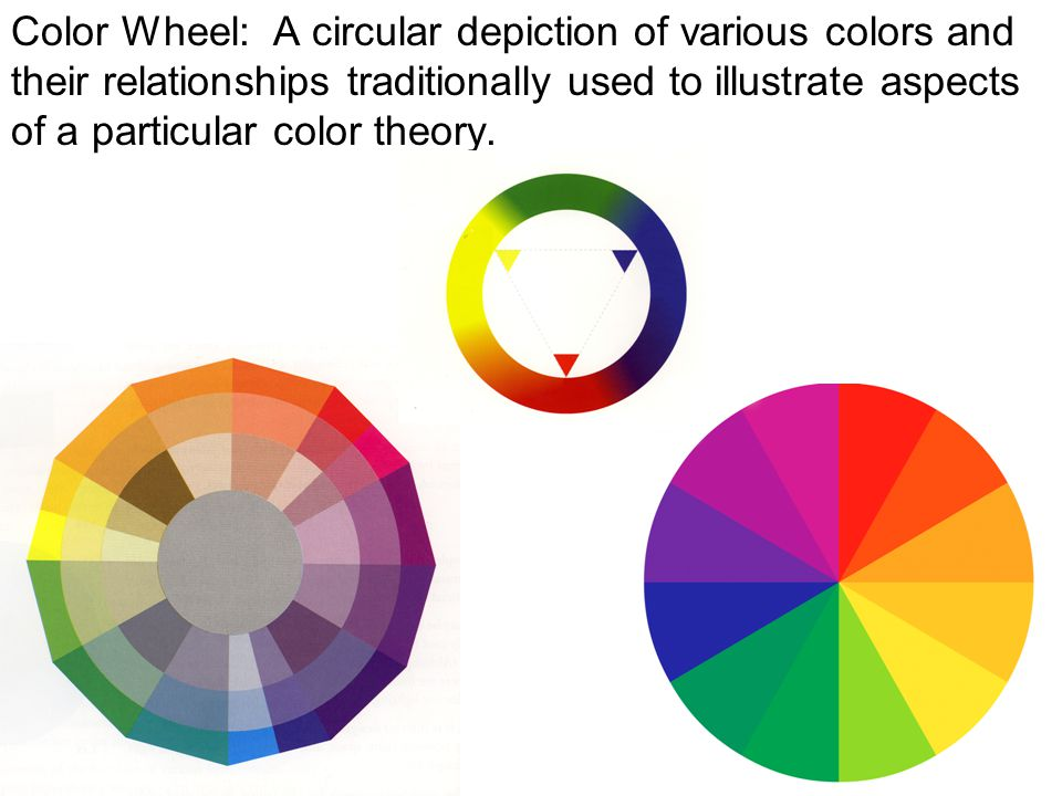 5 Color Wheel A Circular Depiction Of Various Colors And Their Relationships Traditionally Used To Illustrate Aspects Particular Theory